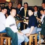 1998 uk tour - enjoying each others company - aprl98-036
