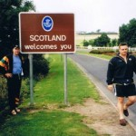 1998 uk tour - mark wright and chris stewart visit scotland - aprl98-038