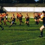 1998 uk tour - mark wright fires one out v british army at kent - aprl98-008