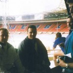 1998 uk tour - mark wright glenn peatling and peter smith at wembley stadium - aprl98-050