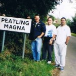 1998 uk tour - mark wright glenn peatling matt smith and shannon renouf find chalkeys ancestors - aprl98-048