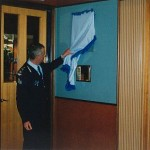 2001 club room official opening - commissioner atkinson officially opens the qpsrla clubroom - pass01-011