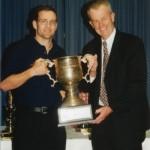 2002 state cships brisbane - presentation night - brisbane captain murray croft - pass02-019