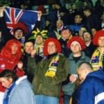 2003 uk tour - cheering on the kangaroos - acprl03-024