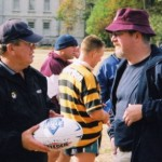 2003 uk tour - gary heskett and sean wade talk tactics - acprl03-009