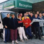 2003 uk tour - the squad gets into pommy life - acprl03-025