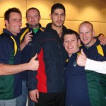 2006 arl national cships - dan kennedy dean anderson brad reh and jason orman with ashraf muhomad - prla06-116