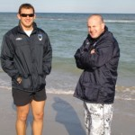 2006 arl national cships - recovery session at glenelg beach - ben rauter and jason orman - prla06-061