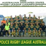 2006 police rugby league australia national squad - prla06-001
