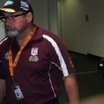 QLD POLICE V NSW POLICE 2014 ASSISTANT COACH RICK CAMPBELL