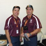 QLD POLICE V NSW POLICE 2014 THE MANAGERS DAN AND TODD